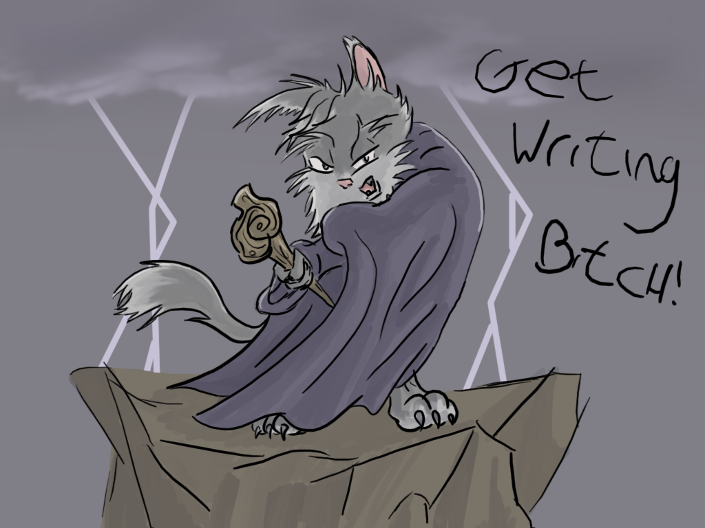 The Bearded Cat Strikes again by Morgoth883