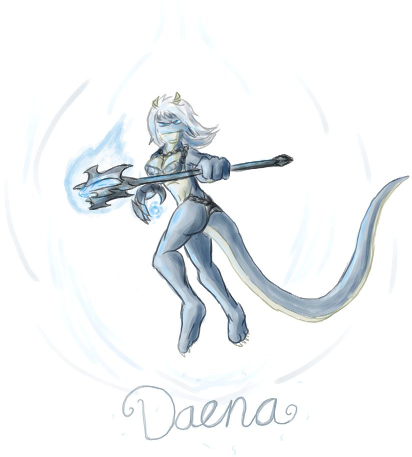 Daena the ice mage by Morgoth883