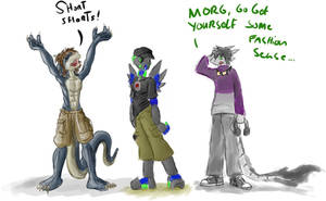 Clothes Swapping by Morgoth883