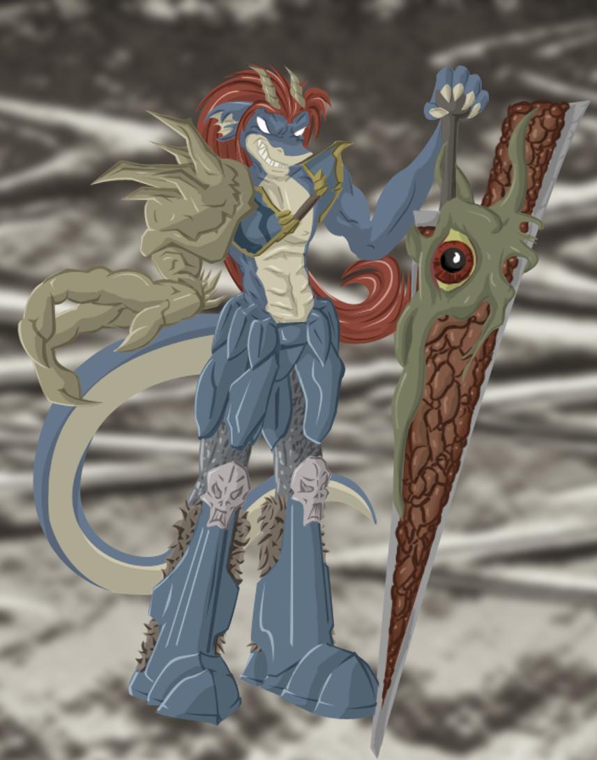 Darastrix Nightmare - coloured by Morgoth883