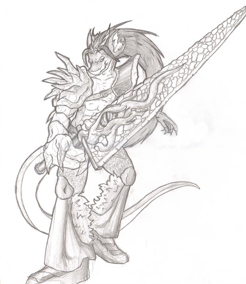 Darastrix Nightmare Rides agai by Morgoth883