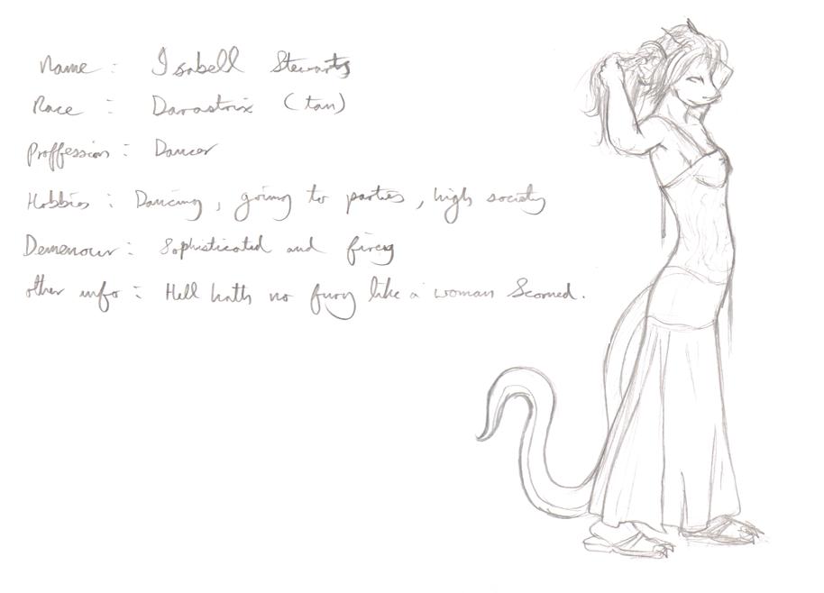 Concept - Isabella Stewarts by Morgoth883