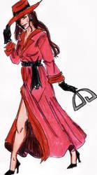 Carmen Sandiego by Indianadelae
