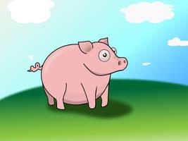 Mr. Piggy by Trutze