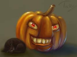 pumpkin soup by Trutze