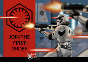 Join the stormtrooper