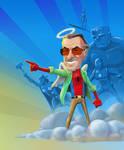 Rip Stan Lee Cor Web