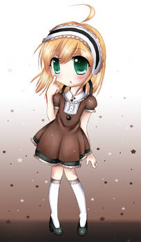 Another chibi - Minty maid x3