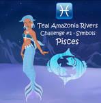 Model Challenge #1 for Teal - Symbols - Pisces
