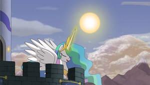 Raising the Sun by HydrusBeta