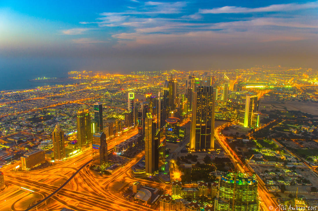 Dubai by Sigfodr