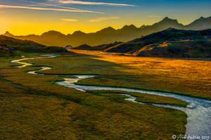Alpine moorland by Sigfodr