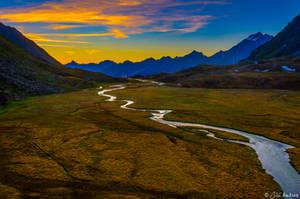 Alpine moorland II by Sigfodr