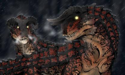 Dinovember 2: Diablos by Blacksa1t