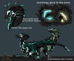 [COMMISSION] Nightraptor by Blacksa1t