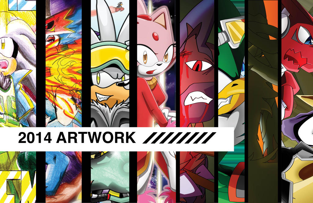 Art of 2014 by Dogwhitesector