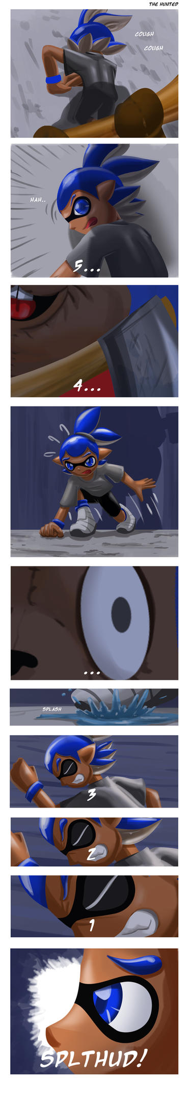 The Hunting Inklings Pt. 2 by Dogwhitesector