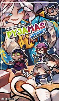 DOUJINSHI IDENTITY V: pyjamas night