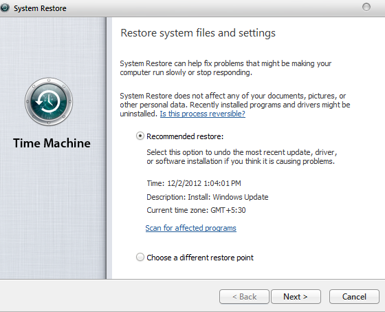 OS X Time Machine for Windows 7 by Shaiderali on DeviantArt