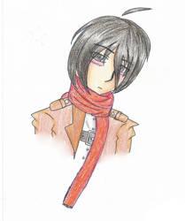 Male! Mikasa Ackerman by MistyGiRl99