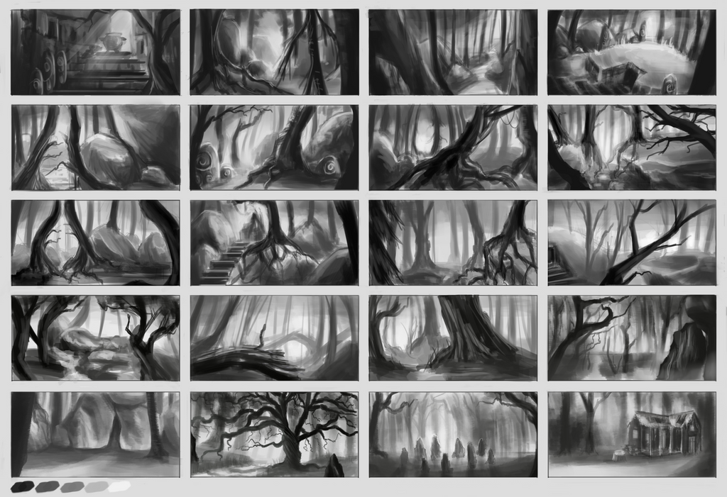Forest Thumbnails by weinrot93