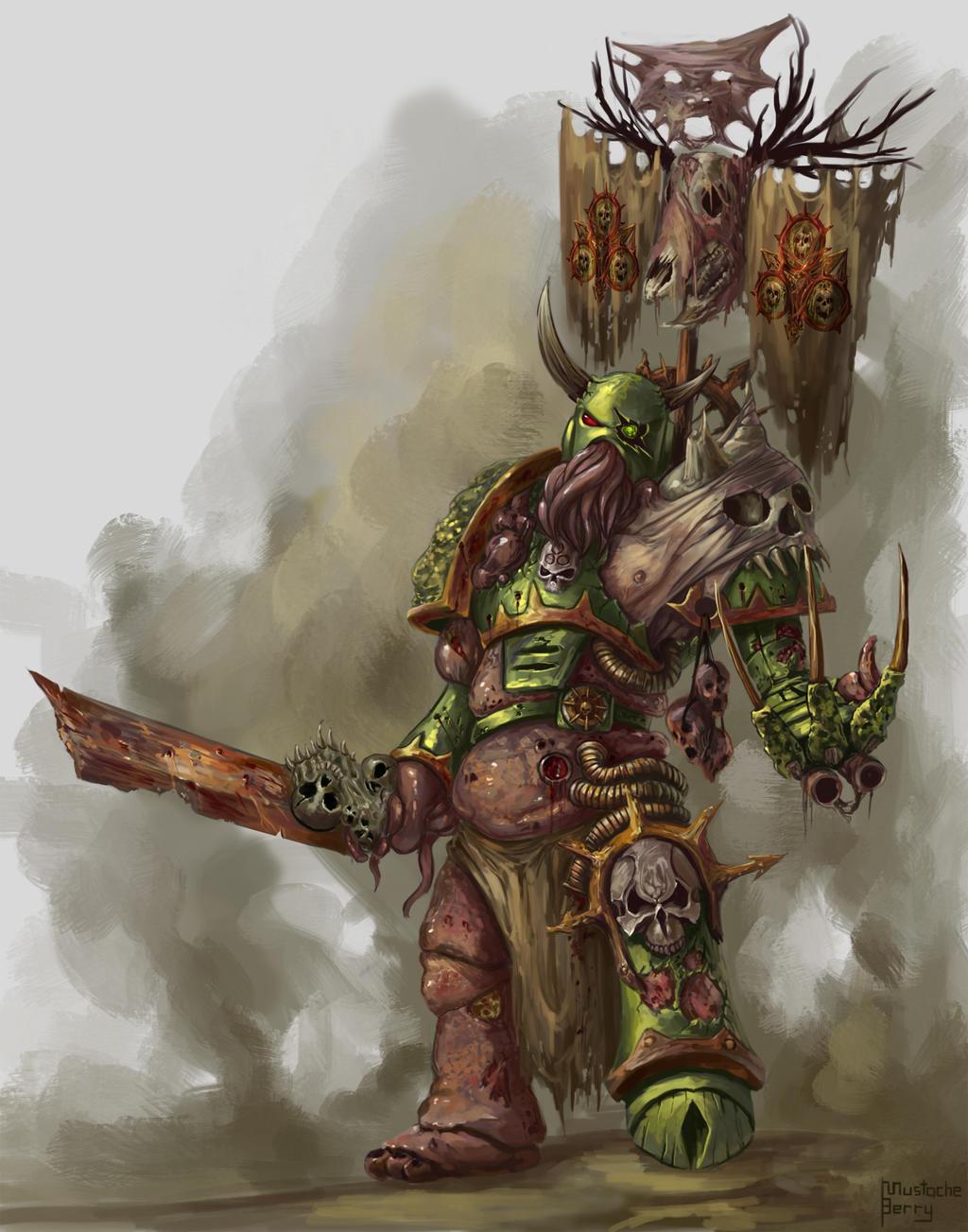 Warhammer 40k - Nurgle's Champion by GetsugaDante on ...