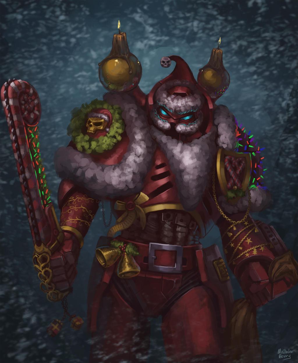 Merry Christmas 2015 - Warhammer style by GetsugaDante on DeviantArt