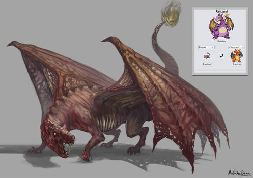 PokeFusion 7# - Ratizard