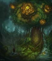 Rose Tree by GetsugaDante