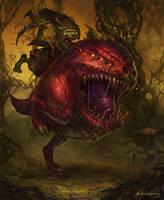 Warhammer Fantasy - Squig Hopper by GetsugaDante
