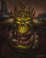 Warhammer Fantasy - Azhag the Slaughterer by GetsugaDante