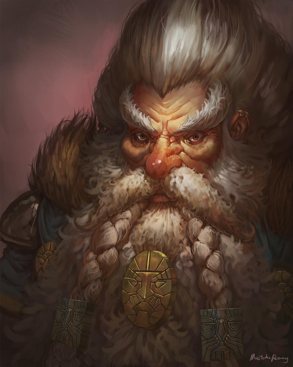 Warhammer Fantasy - Grombrindal the White Dwarf by GetsugaDante