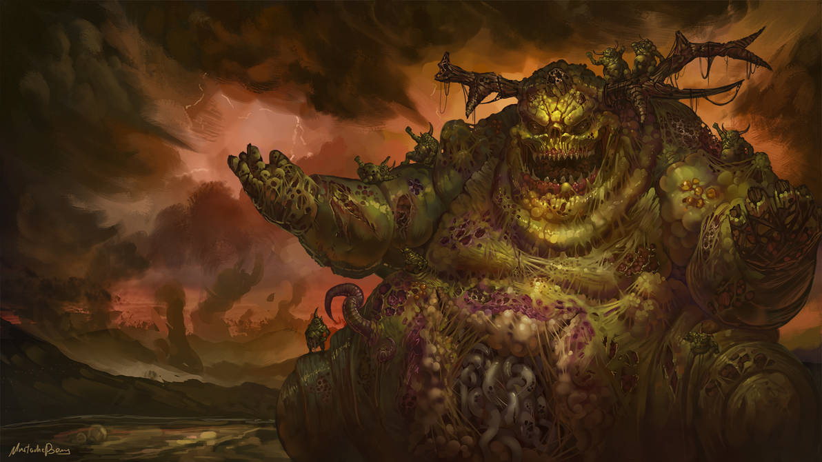Warhammer Fantasy/40k - Great Unclean One by GetsugaDante on DeviantArt