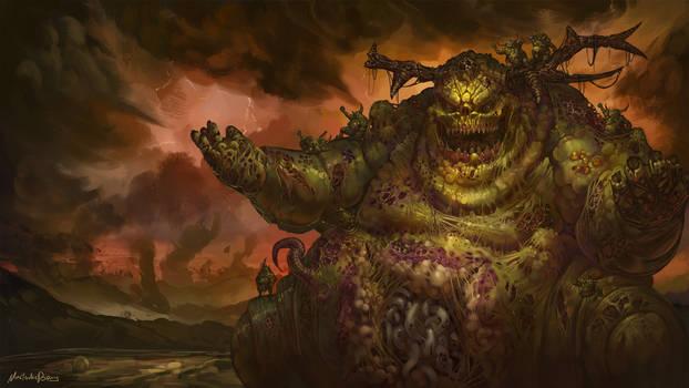 Warhammer Fantasy/40k - Great Unclean One