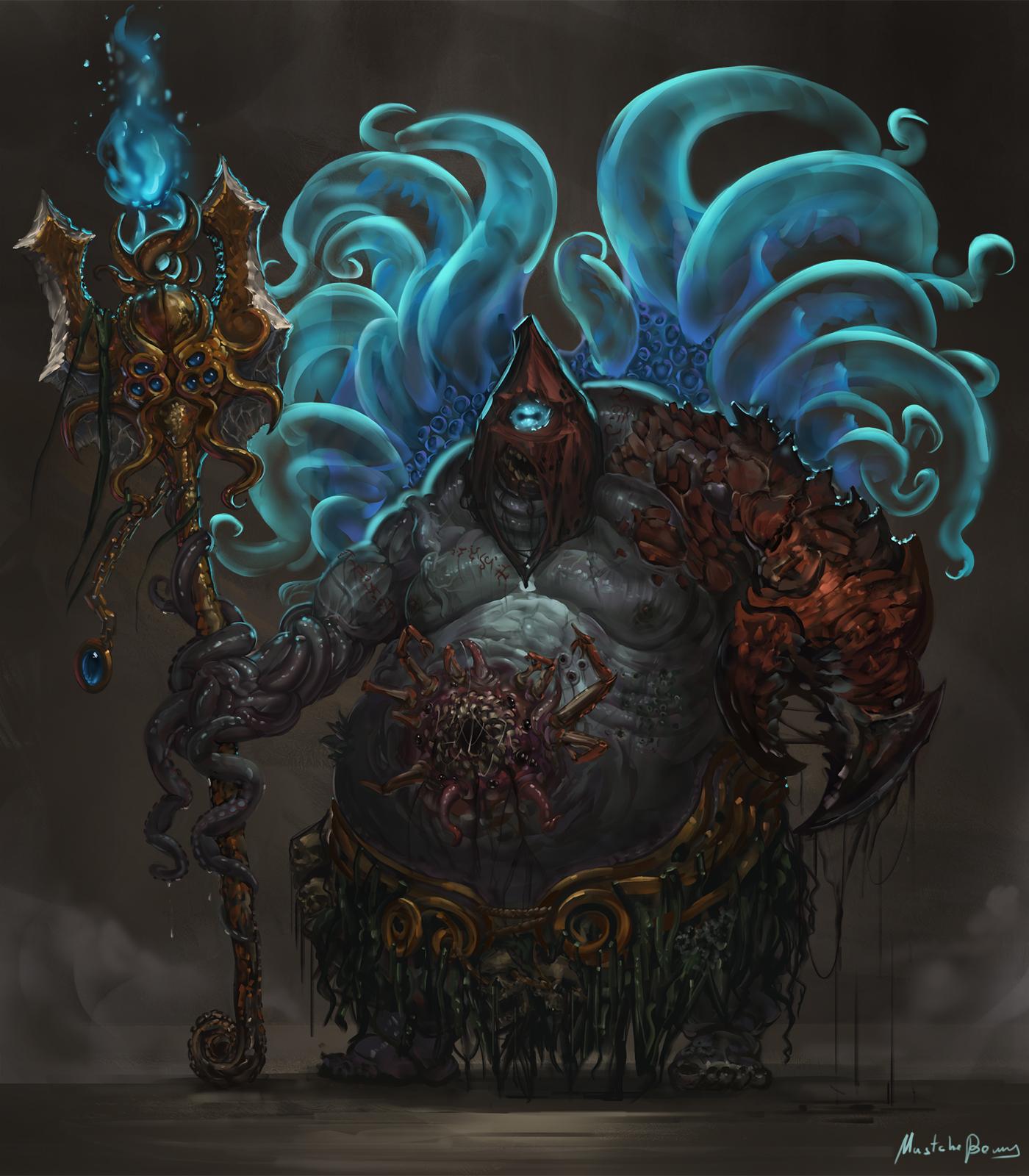 Cthulhu mythos - cult's executioner by GetsugaDante on ...