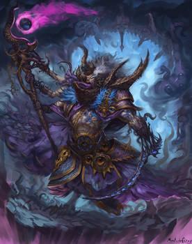 Warhammer Fantasy - Tzeentch sorcerer 2#