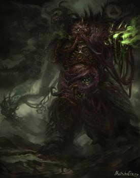 Warhammer 40k - Plague marine