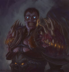 Commission - Undead Death Knight by GetsugaDante
