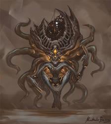 Commission - Grey Alien reimagining by GetsugaDante