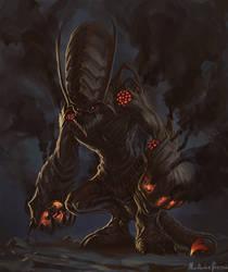Commission - Kaiju OC by GetsugaDante