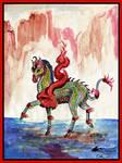 Kentaro the Kir'rin Japanese Sin Loo Dragon Horse