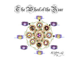 Wheel of the Year by StephanieSmall