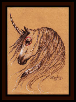 Native Unicorn Buckskin Mustang Horse Brown Bay