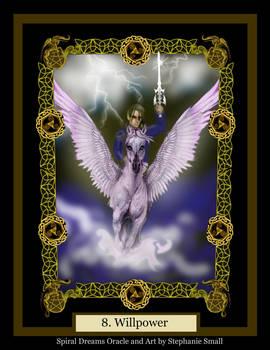 8 Willpower Knight Man Horse Pegasus Sword