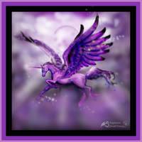 Flight of the Winged Unicorn by StephanieSmall