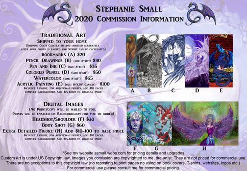 Stephanie Small DA Artist Commission Profile OPEN