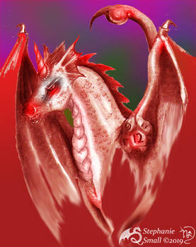 Pseudodragon Gygaxian D12 Stud unicorn horse pony