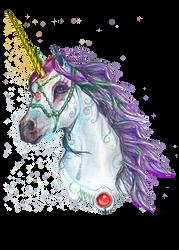 Unicorn Horse Pony Equine Equus Ohrelle