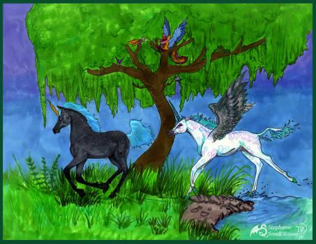Ishohem Ohrelle Unicorn Foals horse Pegasus