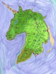The Island of Tir'Rielle by StephanieSmall